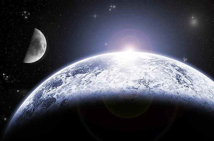 quelle est la vitesse de la terre de la lune et du soleil. Black Bedroom Furniture Sets. Home Design Ideas