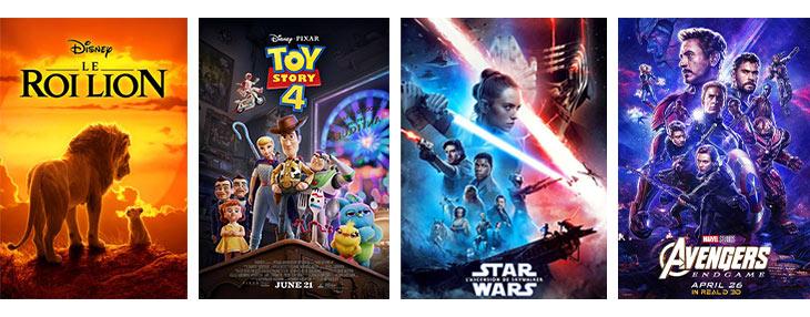 top films au cinéma en 2019