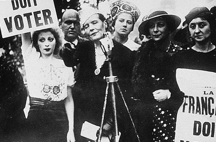 1944 droit de vote des femmes