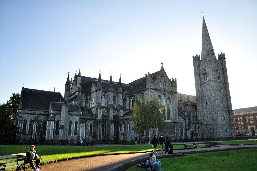 cathédrale saint Patrick de Dublin