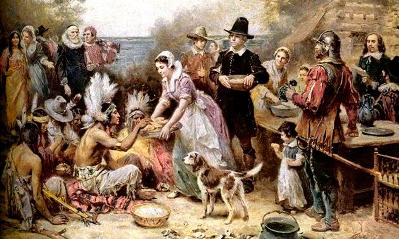 le premier thanksgiving