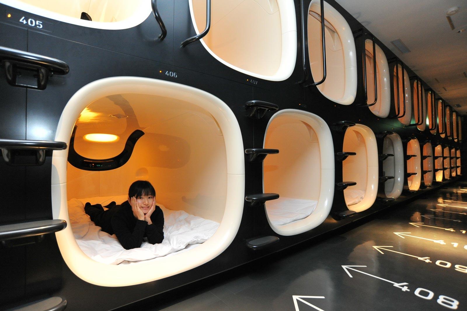 hôtel capsule